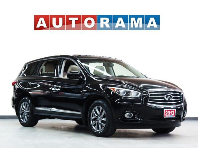 2013 INFINITI JX NAVIGATION LEATHER SUNROOF 7 PASS AWD BACKUP CAMER in North York, Ontario