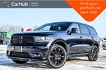2017 Dodge Durango GT AWD 7 Seater Navi Sunroof Bluetooth R-Start Backup Camera Blind Spot Trailer Tow Group 20Alloy in Bolton, Ontario