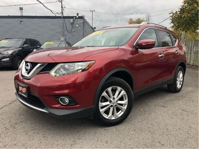2014 NISSAN ROGUE SV AWD PANOROOF in St Catharines, Ontario