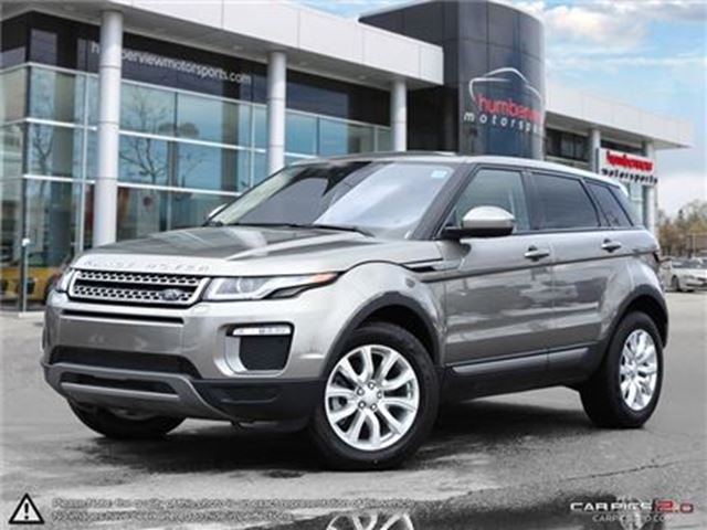 2017 LAND ROVER RANGE ROVER EVOQUE SE TECH PACKAGE   CAR-PROOF CLEAN in Mississauga, Ontario