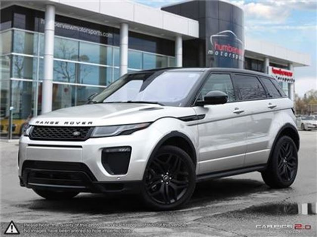 2017 LAND ROVER RANGE ROVER EVOQUE HSE DYNAMIC PACKAGE   LUXURY SEATING   HEADS UP DI in Mississauga, Ontario