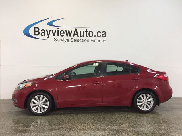 2015 KIA FORTE LX- 1.8L|ALLOYS|HTD STS|A/C|BLUETOOTH|CRUISE! in Belleville, Ontario