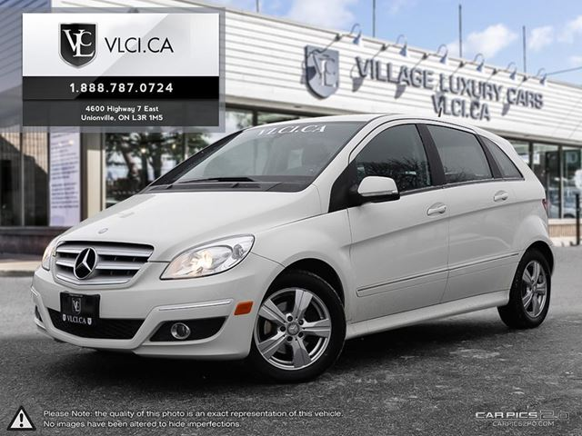 2010 MERCEDES-BENZ B-CLASS LEATHER | LOW KMS | VLC TRADE IN in Markham, Ontario