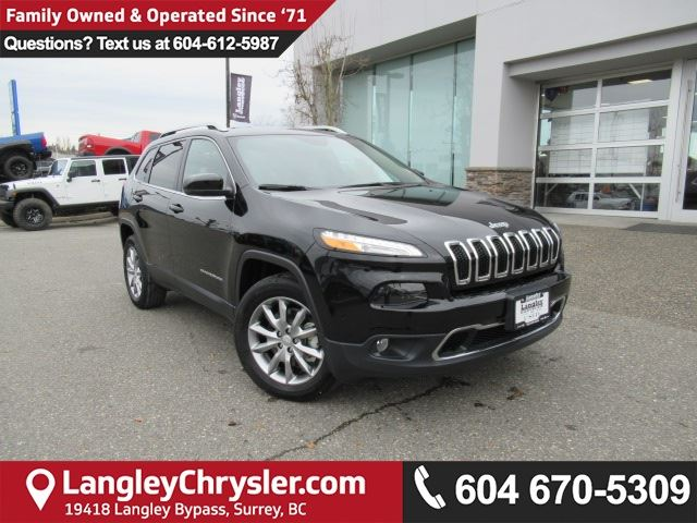 2017 JEEP CHEROKEE Limited <B>*2017 CLEAROUT!!!*MUST GO!!*LUXURY GROUP*<b> in Surrey, British Columbia