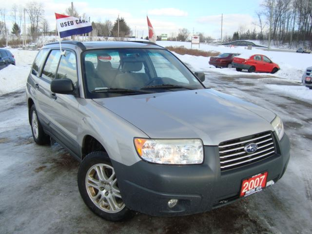 2007 SUBARU FORESTER 2.5X AWD Only 155km Accident Free Sunroof in Cambridge, Ontario