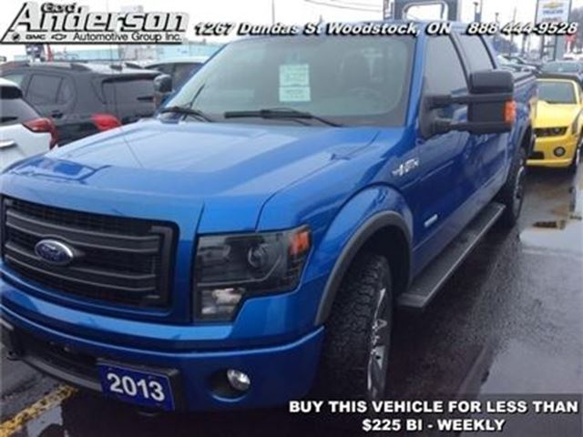 2013 Ford F-150 FX4 - Bluetooth -  Siriusxm in Woodstock, Ontario