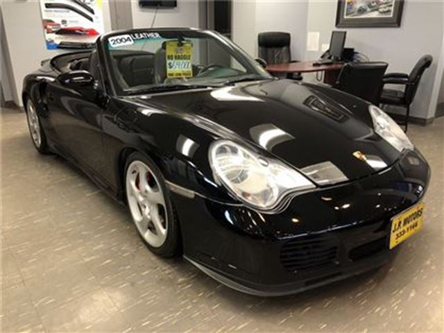 2004 PORSCHE 911 Turbo, Manual, Leather, Convertible, 69, 000km in Burlington, Ontario
