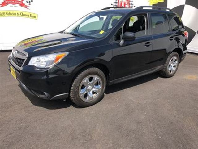 2015 SUBARU FORESTER i, Automatic, Power Windows, AWD in Burlington, Ontario