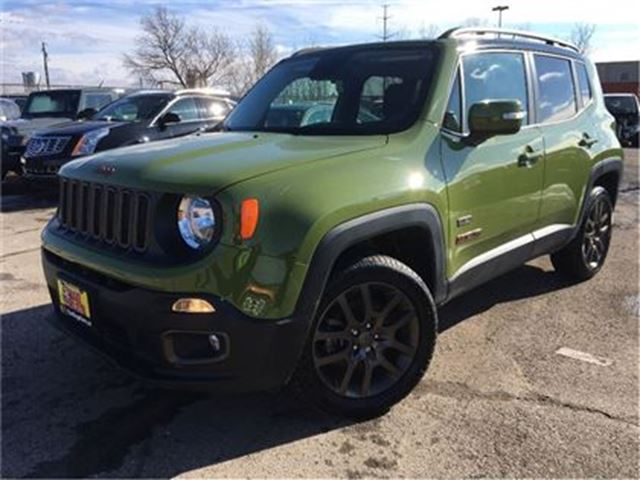 2016 JEEP RENEGADE NAVIGATION BACKUP CAM 6SPEED in St Catharines, Ontario