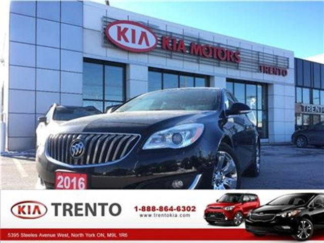 2016 BUICK REGAL Premium II AWD ONE OWNER  NAV LEATHER PUSH START in North York, Ontario