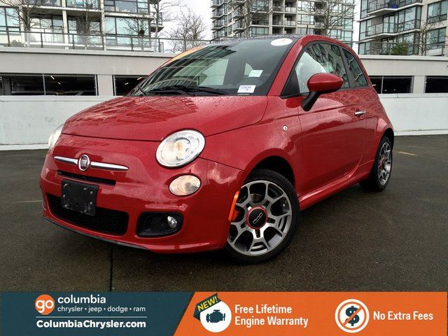 2013 FIAT 500 Sport, Leather Seats, Sunroof in Richmond, British Columbia