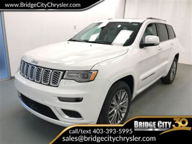 2018 JEEP GRAND CHEROKEE Summit- *Manager Demo* in Lethbridge, Alberta