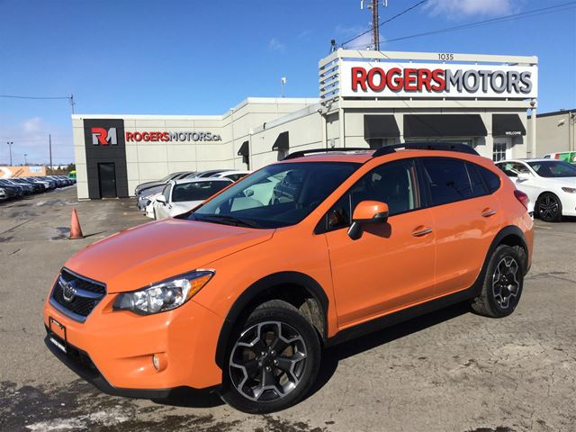 2014 SUBARU XV CROSSTREK LTD - NAVI - LEATHER - REVERSE CAM in Oakville, Ontario