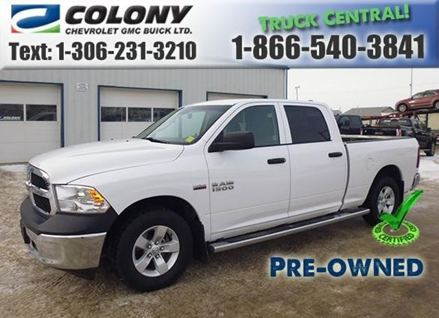 2014 Dodge RAM 1500 ST in Humboldt, Saskatchewan
