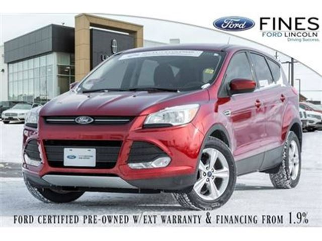2014 FORD Escape SE - FORD CERTIFIED WITH RATES FROM 1.9% APR in Bolton, Ontario
