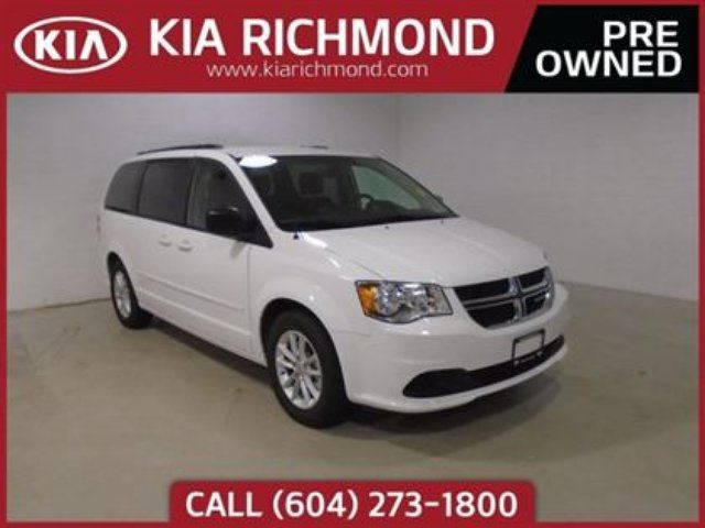 2017 DODGE GRAND CARAVAN SXT in Richmond, British Columbia
