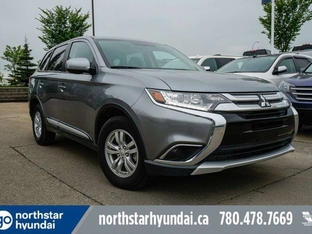 2017 MITSUBISHI OUTLANDER ES AWD BACK UP CAMERA DUAL CLIMATE ALLOYS in Edmonton, Alberta