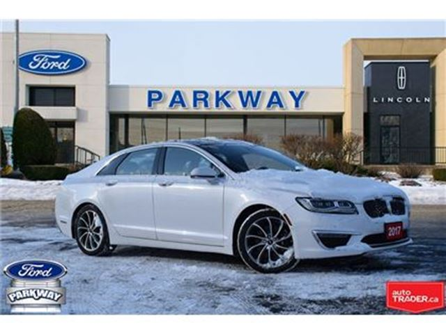 2017 LINCOLN MKZ AWD DEMO  LOADED   DRIVER'S PACKAGE in Waterloo, Ontario