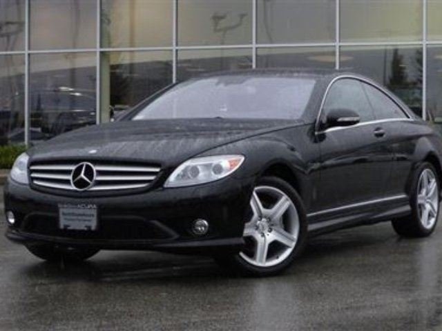 2009 MERCEDES-BENZ CL-CLASS 4matic Coupe in North Vancouver, British Columbia