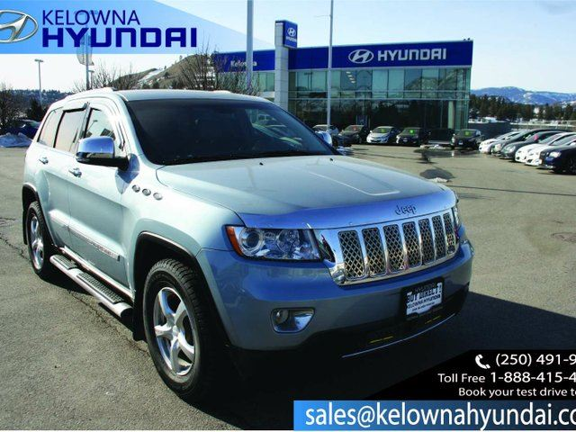2012 JEEP GRAND CHEROKEE Limited 4dr 4x4 in Kelowna, British Columbia