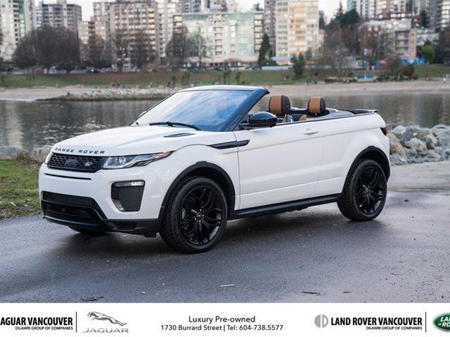 2017 LAND ROVER RANGE ROVER EVOQUE HSE DYNAMIC Convertible in Vancouver, British Columbia