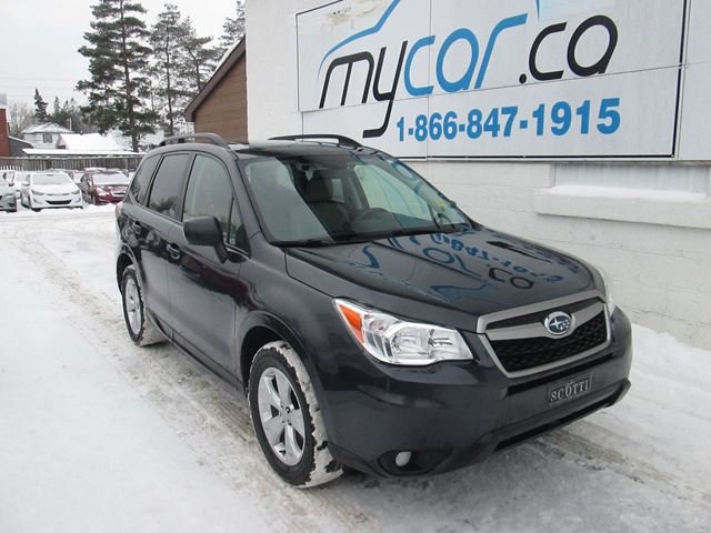 2015 SUBARU FORESTER 2.5i Touring Package in North Bay, Ontario