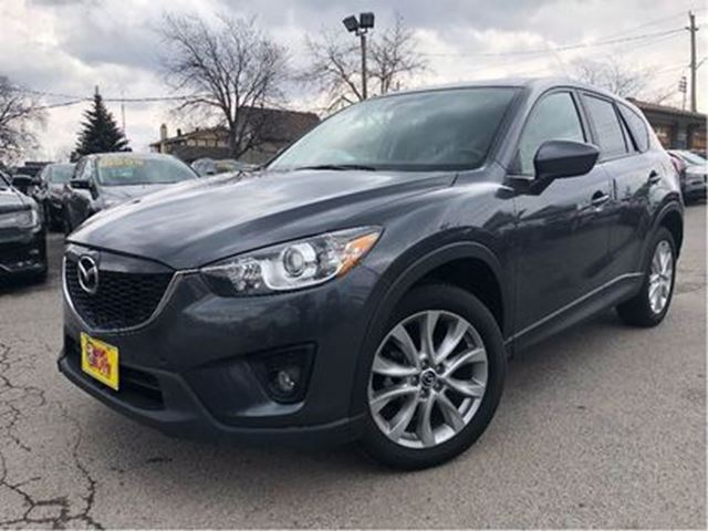 2014 MAZDA CX-5 GT AWD LEATHER SUNROOF NAV BACKUP CAMERA in St Catharines, Ontario