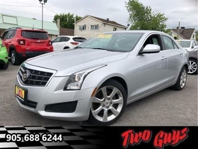 2014 CADILLAC ATS 2.5L NAV FROM TELEMATICS LEATHER SUN ROOF CHROME in St Catharines, Ontario
