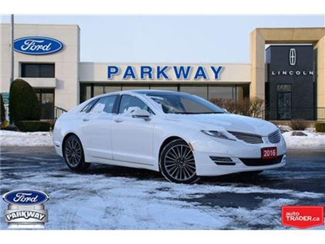 2016 LINCOLN MKZ AWD  1-OWNER  ACCIDENT FREE  LOW KILOMETERS in Waterloo, Ontario