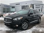2013 Infiniti JX One owner, accident free in Mississauga, Ontario