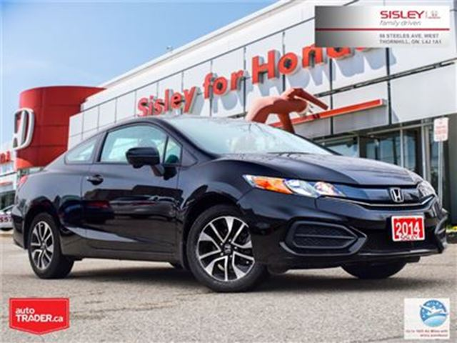 2014 HONDA Civic COUPE EX - 1 Owner, Excellent Condition in Thornhill, Ontario