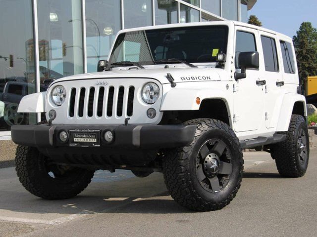2015 JEEP WRANGLER Unlimited Rubicon 4dr 4x4 in Kamloops, British Columbia