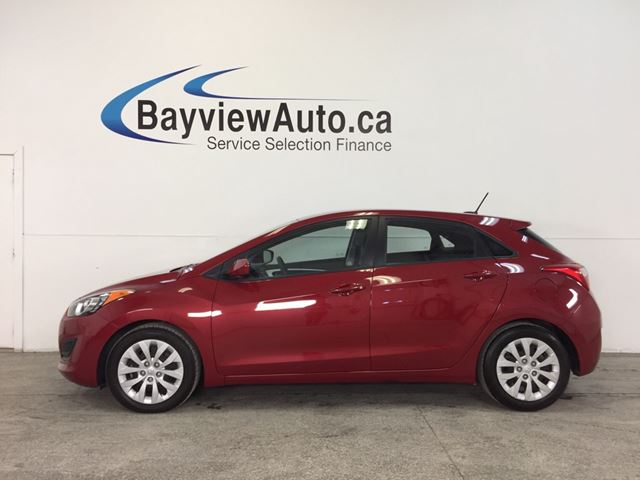 2016 HYUNDAI ELANTRA GT- AUTO ALLOYS HTD STS BLUETOOTH CRUISE LOW KM! in Belleville, Ontario