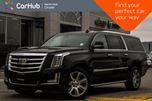 2017 Cadillac Escalade ESV Luxury AWD 7-Seater Sunroof Rear DVDs 360 Cam BOSE 22Alloys in Thornhill, Ontario