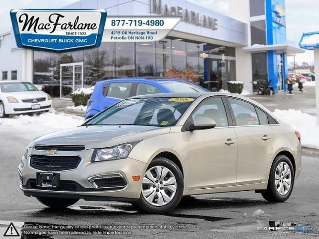 2016 Chevrolet Cruze LT in Petrolia, Ontario