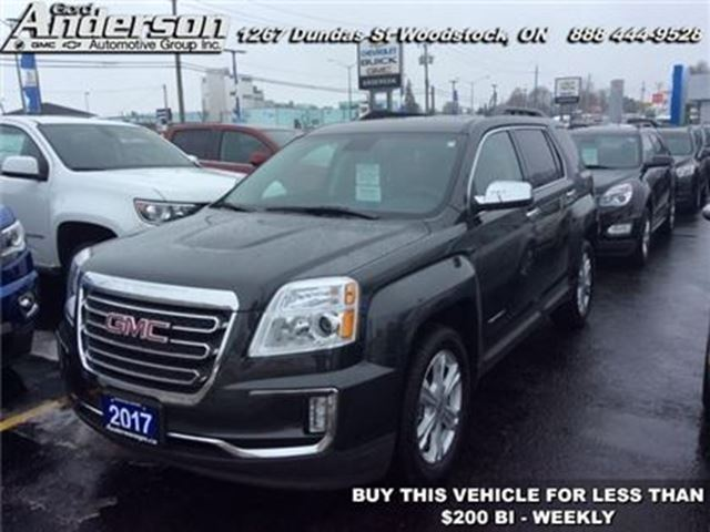 2017 GMC Terrain SLE-2 - Heated Seats -  Power Seat in Woodstock, Ontario