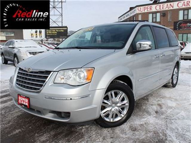 2008 CHRYSLER TOWN AND COUNTRY Limited Navi-DVD-Sunroof-Back Up Cam in Hamilton, Ontario