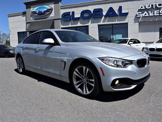 2017 BMW 4 SERIES xDrive GRAN COUPE LEATHER NAV MORE.... in Ottawa, Ontario