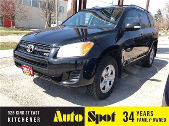 2011 TOYOTA RAV4 6cyl/PRICED FOR A QUICK SALE! in Kitchener, Ontario