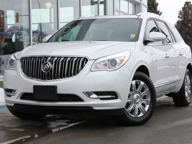 2017 BUICK ENCLAVE Leather All-wheel Drive in Kamloops, British Columbia