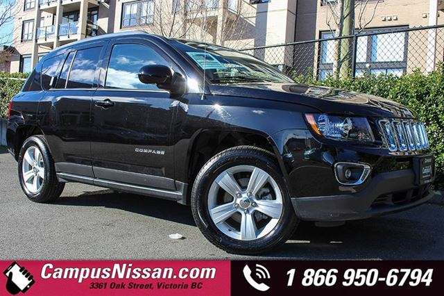 2016 JEEP COMPASS 4WD High Altitude in Victoria, British Columbia