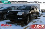 2005 Toyota 4Runner Limited V6/ AS -IS in Milton, Ontario