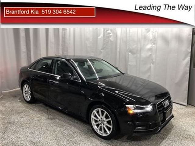 2015 AUDI A4 Leather   Navi   AWD in Brantford, Ontario
