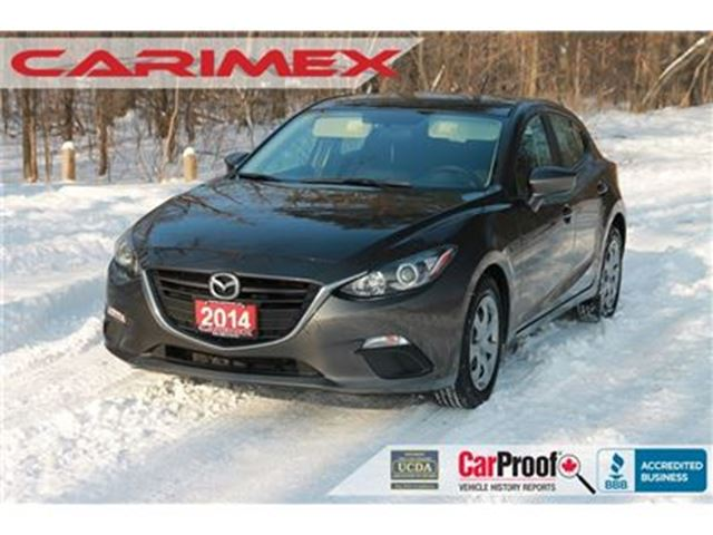 2014 MAZDA MAZDA3 GX-SKY Bluetooth   AC   Power Windows   CERTIFIED in Kitchener, Ontario