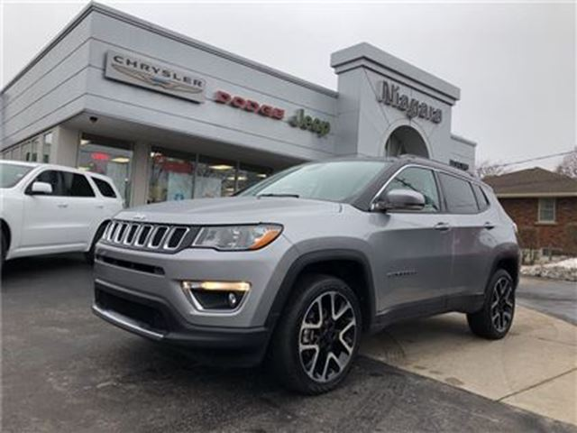 2017 JEEP COMPASS LIMITED,LEATHER,ALLOYS,NAV in Niagara Falls, Ontario