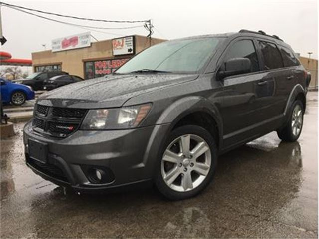 2014 DODGE JOURNEY SXT MOON ROOF BIG SCREEN CHROME MAGS in St Catharines, Ontario