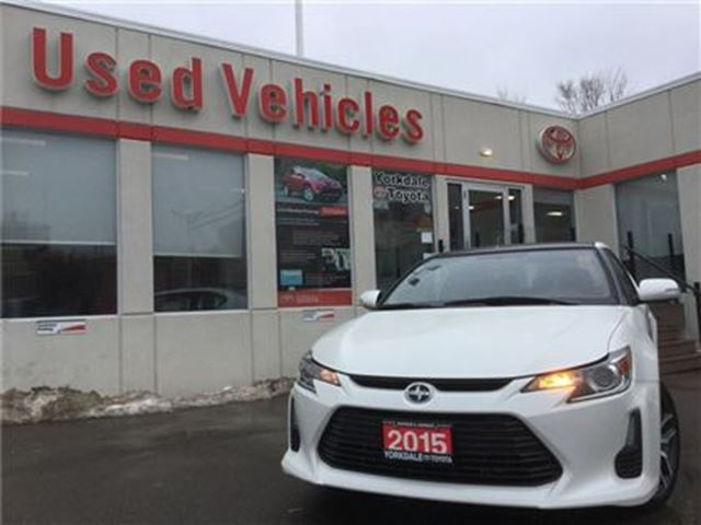2015 SCION TC CRUISE   USB/AUX   A/C   S.ROOF   P.WINDO in Toronto, Ontario