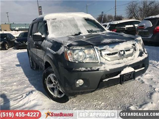 2010 HONDA PILOT EX-L   AWD   7PASS   LEATHER   ROOF in London, Ontario