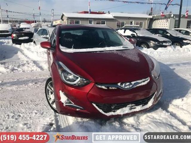 2016 HYUNDAI ELANTRA GLS   CAM   ROOF   HEATED SEATS in London, Ontario