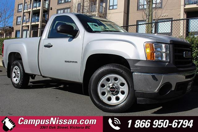 2011 GMC SIERRA 1500 2WD WT in Victoria, British Columbia